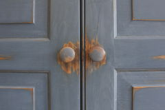 Free Closed Door Symmetry Stock Image - 17657561