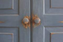 Closed door symmetry  Stock Image