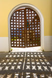 Closed doors Stock Images