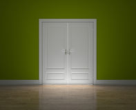 Closed doors Royalty Free Stock Photos