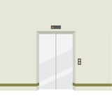 Closed Doors Elevator Royalty Free Stock Photo