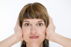 Closed ears near Stock Photography