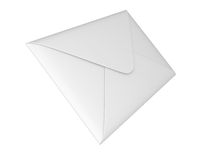 Closed envelope Royalty Free Stock Photo