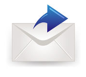 Closed envelope  icon Stock Photography