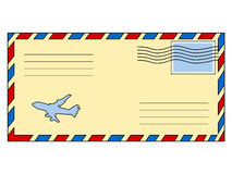Closed envelope Royalty Free Stock Image