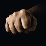 Closed Fist Royalty Free Stock Image