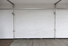 Closed front wall Royalty Free Stock Images