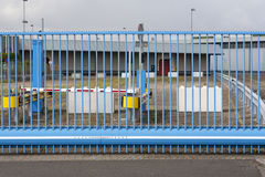 Closed gate Stock Photo