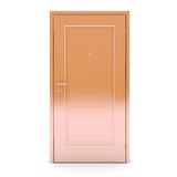 Closed gold door Stock Photos