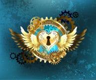 Closed heart Stock Photo