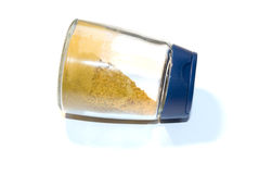 Closed jar with spices. Stock Image