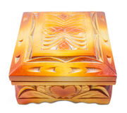Closed jewelry box. Stock Images