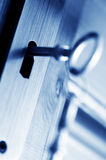 CLOSED - key security Royalty Free Stock Photo
