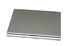 Closed laptop Stock Photography