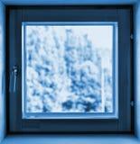 Closed little window Stock Image