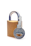 Closed lock Royalty Free Stock Photo
