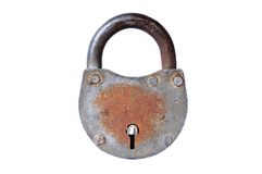 Closed lock Royalty Free Stock Photos