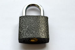Closed lock 3. Closed lock can not be opened without a key Royalty Free Stock Photography