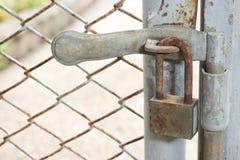 Closed lock Stock Photo