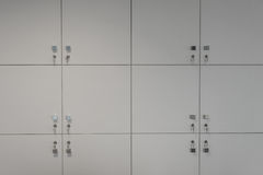 Closed lockers Stock Images