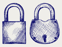 Free Closed Locks Security Icon Stock Image - 27139881