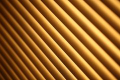 Closed metal jalousie background Royalty Free Stock Images