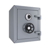 Closed metal safe Royalty Free Stock Image