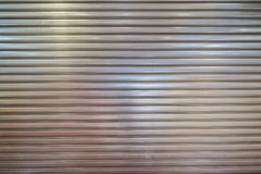Metal shutter, aluminum royalty free stock photo