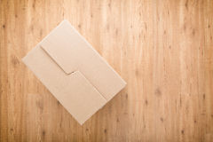 Closed Moving or Storage Box Royalty Free Stock Photography