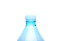 Closed neck plastic bottle Royalty Free Stock Photos