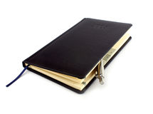 Closed notebook Royalty Free Stock Photography