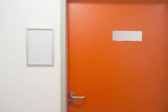 Closed office door Stock Photography