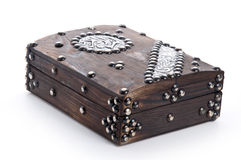 Closed Old Quran Box Royalty Free Stock Images