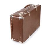 Closed old suitcase Royalty Free Stock Photo