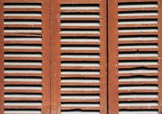 Closed old window shutter Stock Photo