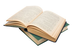 Closed and open books. Royalty Free Stock Photography
