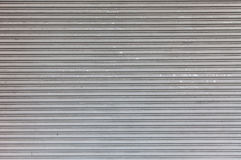 Closed overhead door Stock Photo
