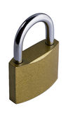 Closed padlock Royalty Free Stock Photography