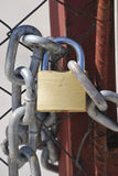 Closed Padlock Stock Photography