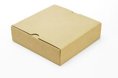 Closed paper box Stock Photos