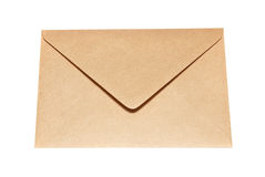 Closed paper envelope Royalty Free Stock Images