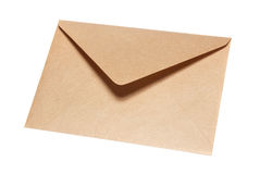 Closed paper envelope Stock Image