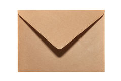 Closed paper envelope Royalty Free Stock Image