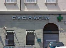 Closed Pharmacy`s Exterior