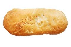 Closed pie, kulebyaka Stock Images