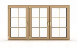 Closed plastic window Stock Photos