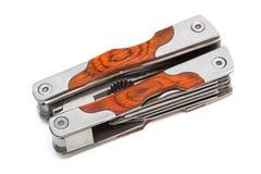 Closed pocket knife Stock Images