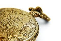Closed Pocket Watch Stock Photo