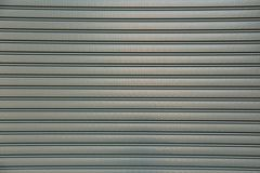A closed roller garage door Royalty Free Stock Image