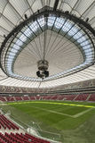 Closed roof in Warsaw National Stadium, Poland Stock Photos